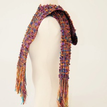 Colorful Tweed scarf