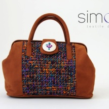 Colourful woven doctor bag