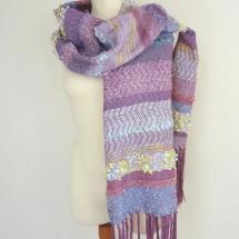 Textural woven shawl 2