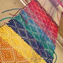 Weaving Samples : patterns and colours
