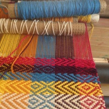 Weaving Samples: rainbow