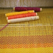 Weaving process: I love Summer collection