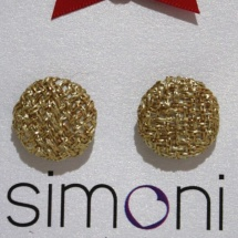 Woven Gold earrings