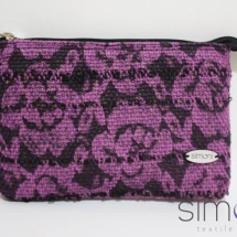 Woven Lace mini purse