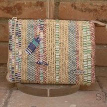 Woven, beauty bag : purse
