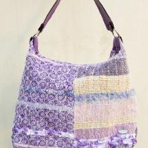 Woven pastel shopper bag 2