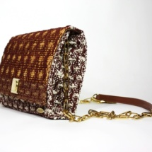 clutch with cotton, raffia and linenclutchc1
