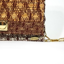 clutch with cotton, raffia and linenclutchc2