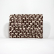 clutch with cotton, raffia and linenclutchc5
