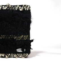 Gold and black purse detail 2